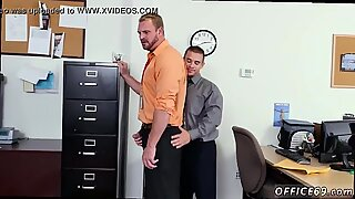 Soft anal movie gay First day at work