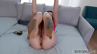 Teen flash webcam and fat guy spanks Money Hungry associate s step daughter