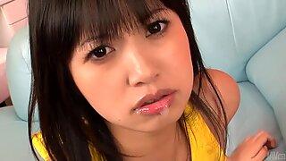 Asian hottie tames hard male schlongs