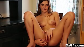 Cute Aubrey Snow showing off her hot body