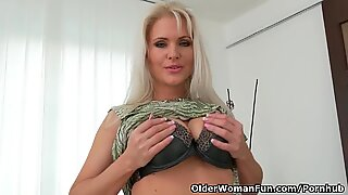 euro cougar Kathy Anderson needs to touch one out