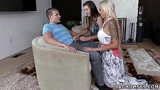 Milf scissor big tits A Mother associate s daughter Arrangement - Lexi Milf