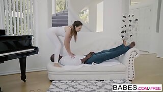 Babes - Black is Better - Stretch It Out starring Melissa Moore and Jax Slayher clip