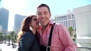 Passionate Latina fucks lucky Austrian guy